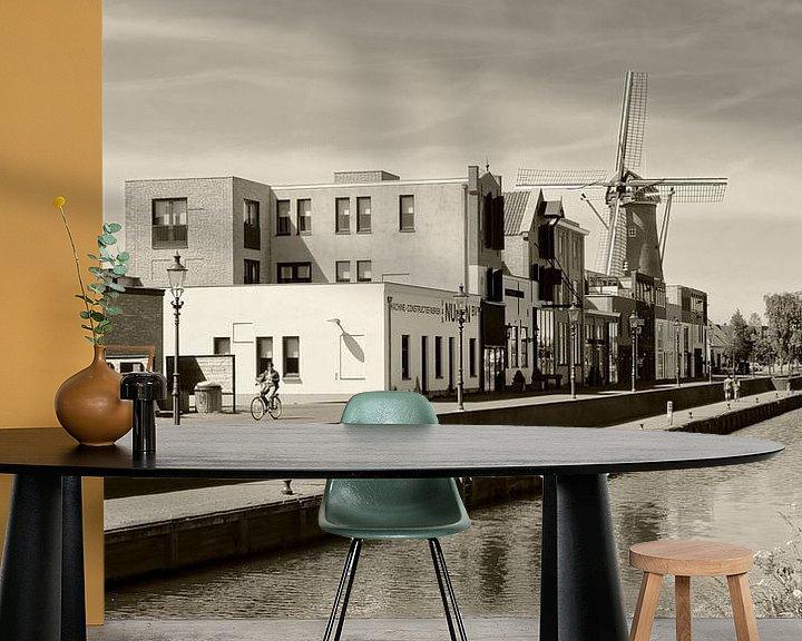 Beispiel fototapete: Haven Etten-Leur von Pierre Timmermans