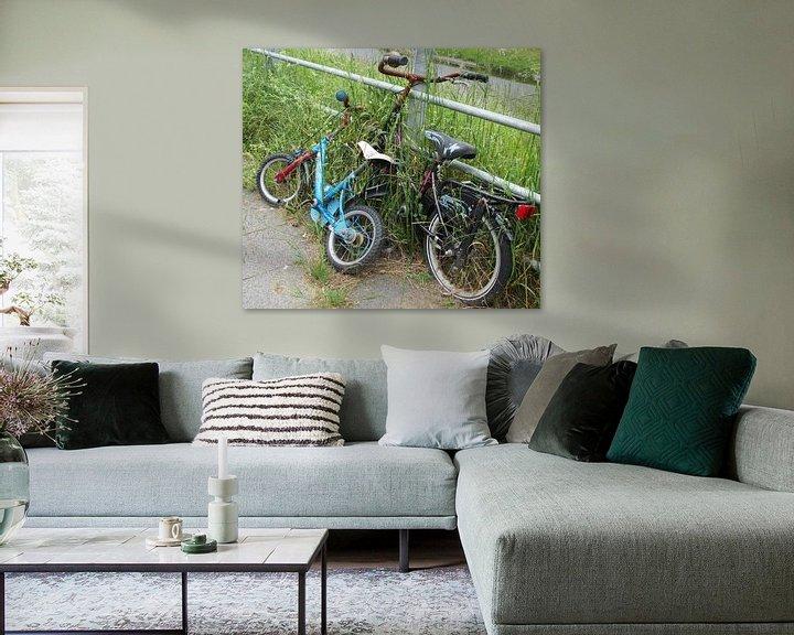 Sfeerimpressie: The two Bicycles van Jon Houkes