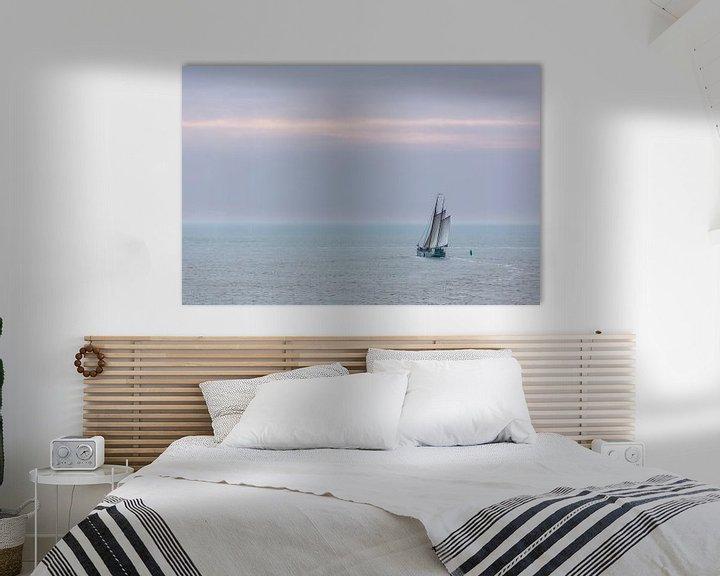 Sfeerimpressie: Zeilen op de Waddenzee van Jurjen Veerman