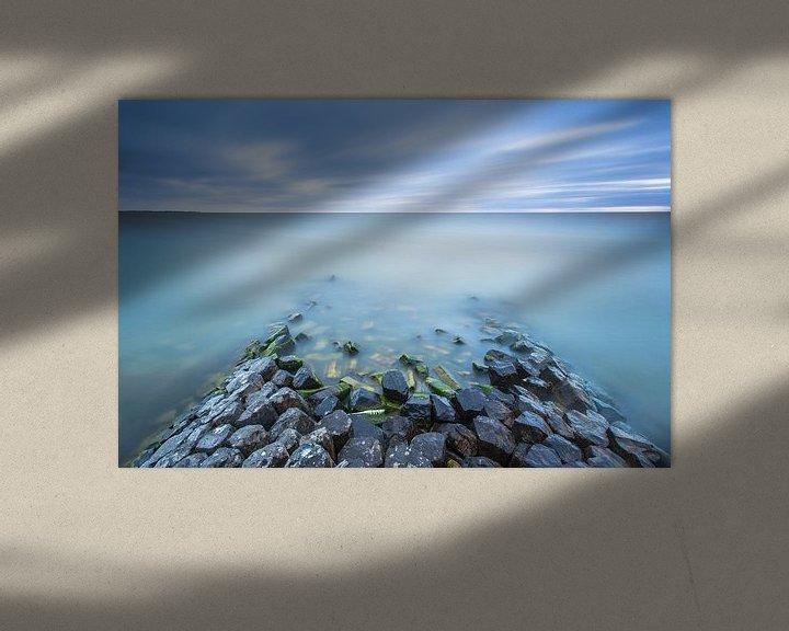 Sfeerimpressie: Basaltblokken IJsselmeer van Jurjen Veerman