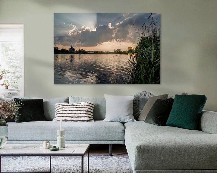 Beispiel: IJssel bij Kampen.  von Harold Meerveld
