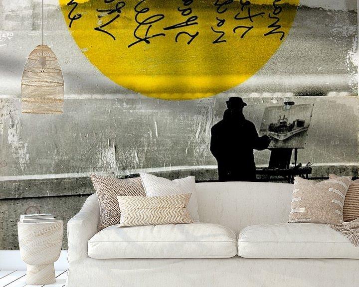 Sfeerimpressie behang: STREET WITH A VIEW van db Waterman