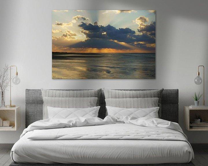 Impression: Strand en zee bij Ouddorp sur Michel van Kooten