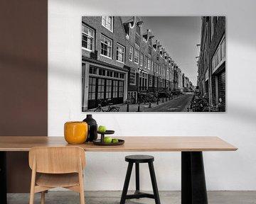 De Eerste Weteringdwarsstraat in Amsterdam.
