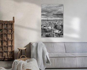 Clouds over Paris van Robert Kersbergen