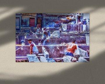 Dhobi Ghat Pt II HDR von Alex Hiemstra