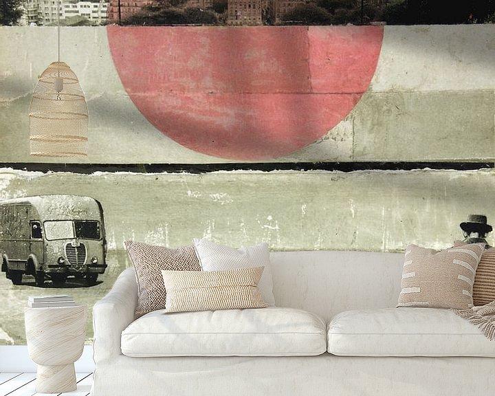 Sfeerimpressie behang: PINK MOON RISING van db Waterman