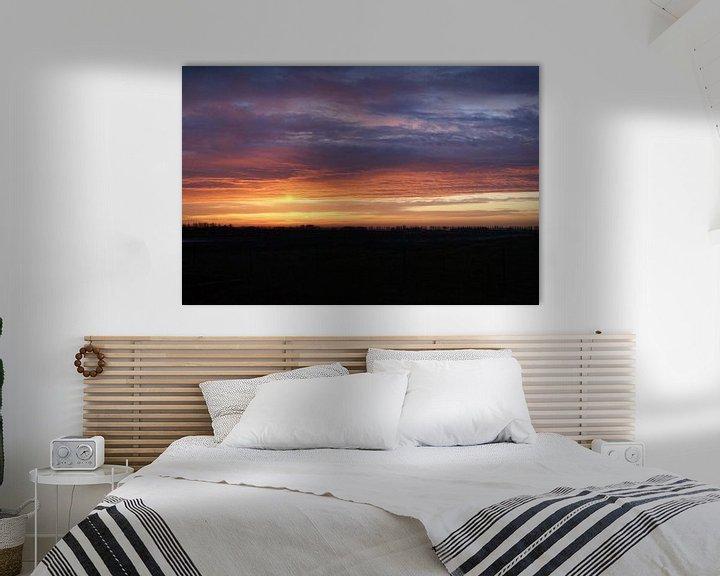Sfeerimpressie: Bewolkt met dáár zon. van Bas Smit
