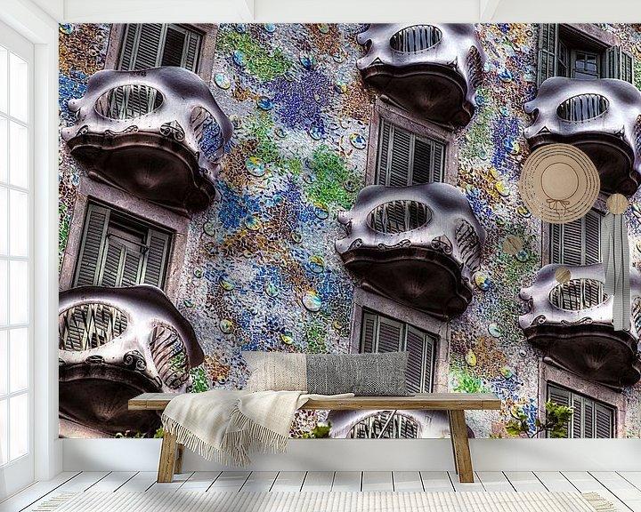 Impression: Balcons Casa Batllo sur Giovanni della Primavera