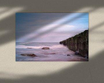 Sfeerplaatje aan de Zeeuwse kust van Deem Vermeulen