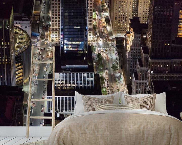 Sfeerimpressie behang: Streets of New York City van Capture the Light