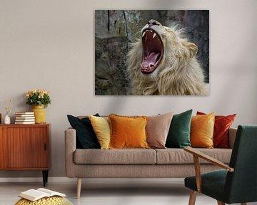 De brullende leeuw sur Rob Smit