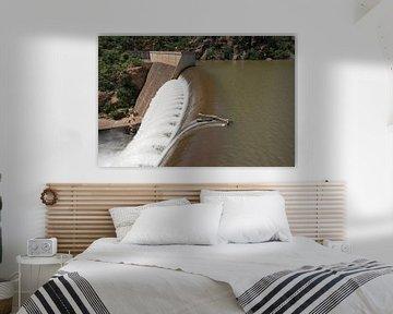 waterval van de swadini dam