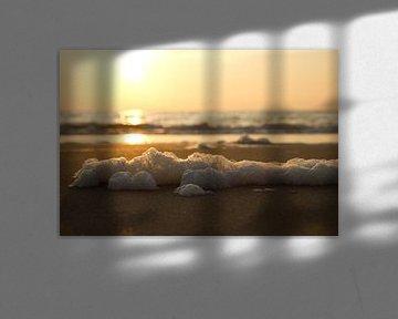 Coucher de soleil sur Simone Meijer