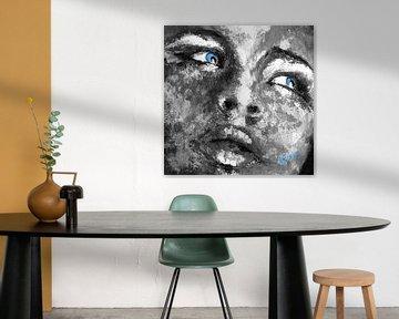 Blue Eyes van Bojan Eftimov