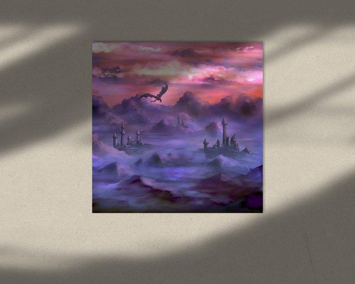 Beispiel: Boven de wolken von Petra van Berkum