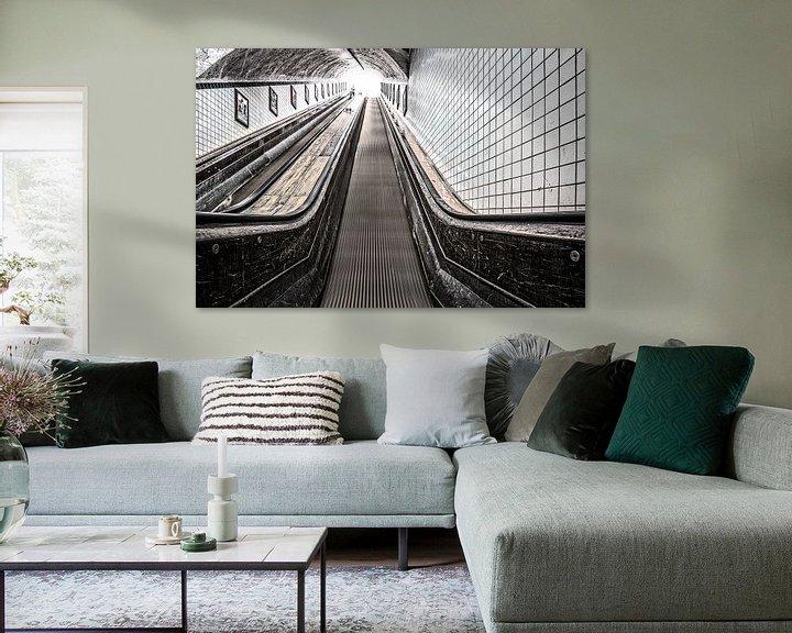 Sfeerimpressie: Urban Rush Antwerpen, part II: The Escalator van juvani photo