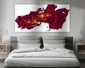 Fractal purple von Roswitha Lorz