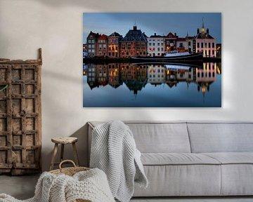 Avond in historisch centrum Maassluis van Artstudio1622