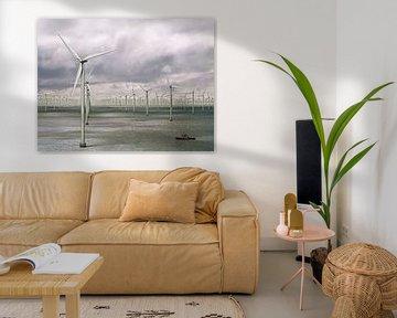 Duizend windmolens op zee - storm op komst