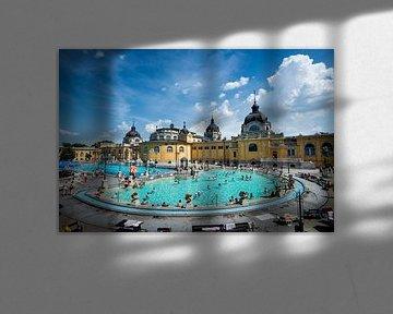 Széchenyibad Boedapest Hongarije van Keesnan Dogger Fotografie