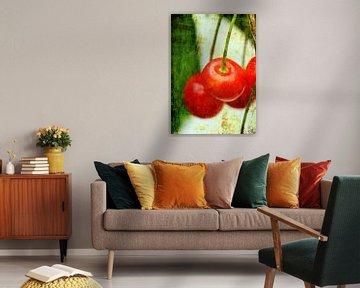 Red Cherries van Roswitha Lorz