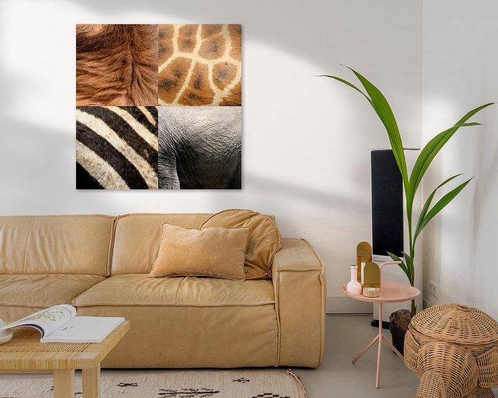 Sfeerimpressie: safari dieren van Martijn Wams