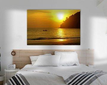Zonsondergang in Maleisië
