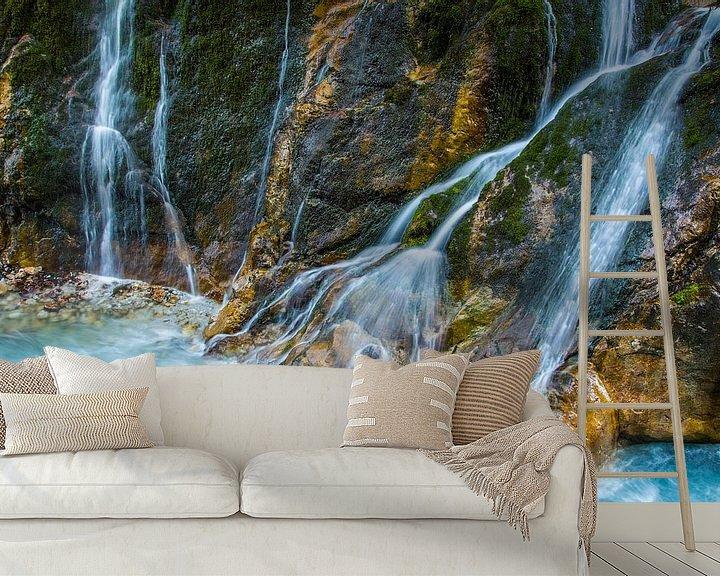 Sfeerimpressie behang: uit de bergen van Daniela Beyer