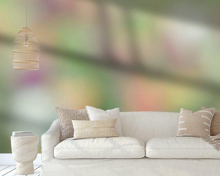 Sfeerimpressie behang: Tulpen van Dennis Van Den Elzen