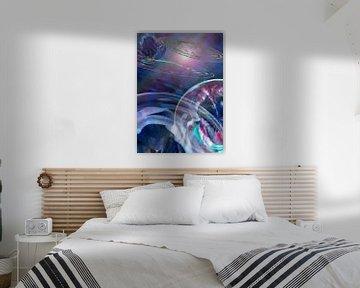 De kosmos surrealistisch van Ina Hölzel