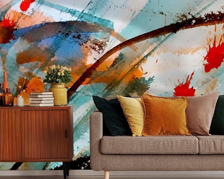 Sfeerimpressie behang: in the wind van M.A. Ziehr