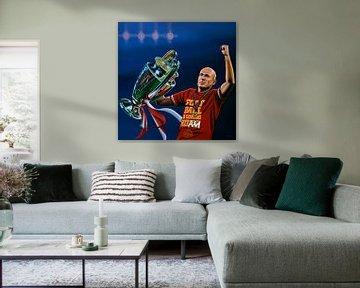 Arjen Robben schilderij von Paul Meijering