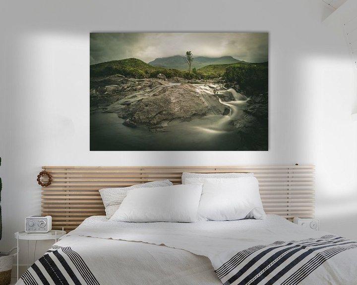 Sfeerimpressie: Sligachan waterval van Jasper van der Meij