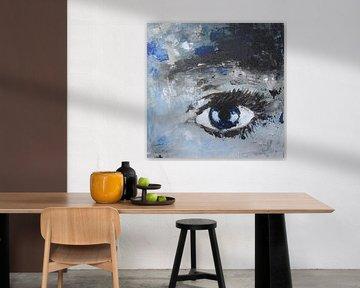 Het meisje met de blauwe ogen van Linda Dammann