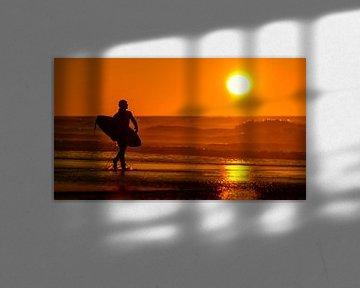 Surfers Sunset van M DH
