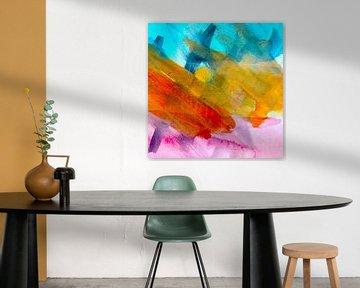 Art abstract van M.A. Ziehr