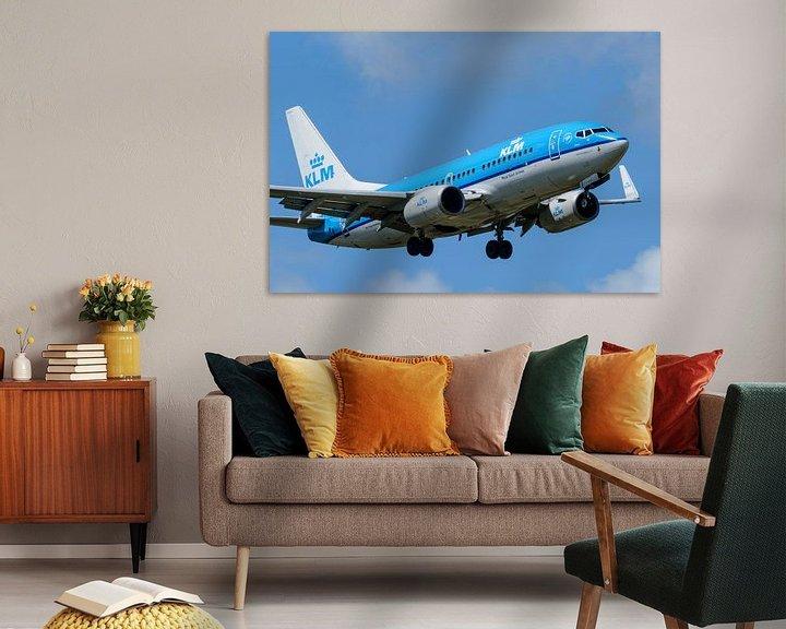 Beispiel: KLM Boeing 737 von Sjoerd van der Wal