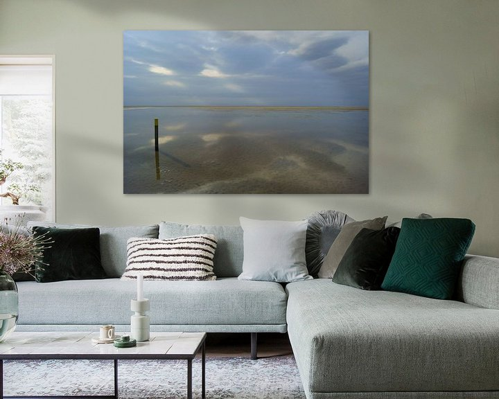 Sfeerimpressie: Strand bij Ouddorp van Michel van Kooten