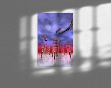 Matrixworld van Isa Bild