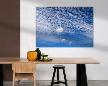 Wolkendecke van Roswitha Lorz