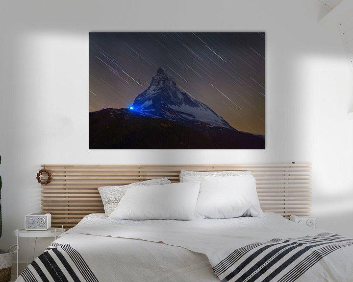 Sfeerimpressie: Nachtfoto Matterhorn van Anton de Zeeuw