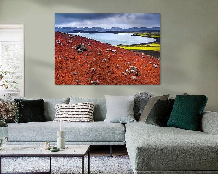 Beispiel: Die Farben Islands von Lukas Gawenda