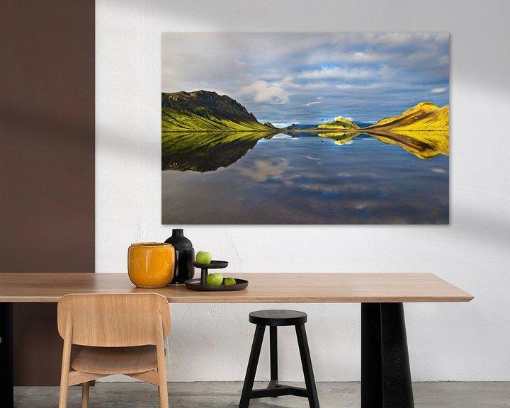 Beispiel: Alftavatn (Island) von Lukas Gawenda