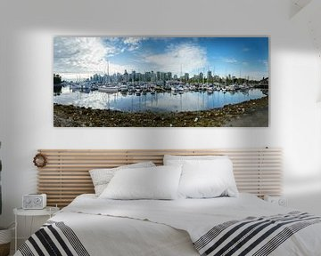 Panorama von Vancouver Kanada
