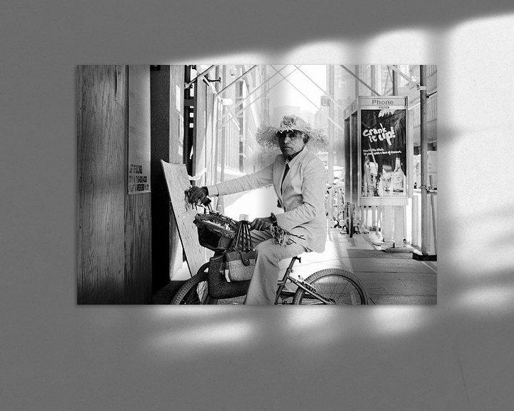 Sfeerimpressie: New York Street Life II van Jesse Kraal