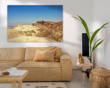 Zabriskie Point, Death Valley, van Martin Van der Pluym