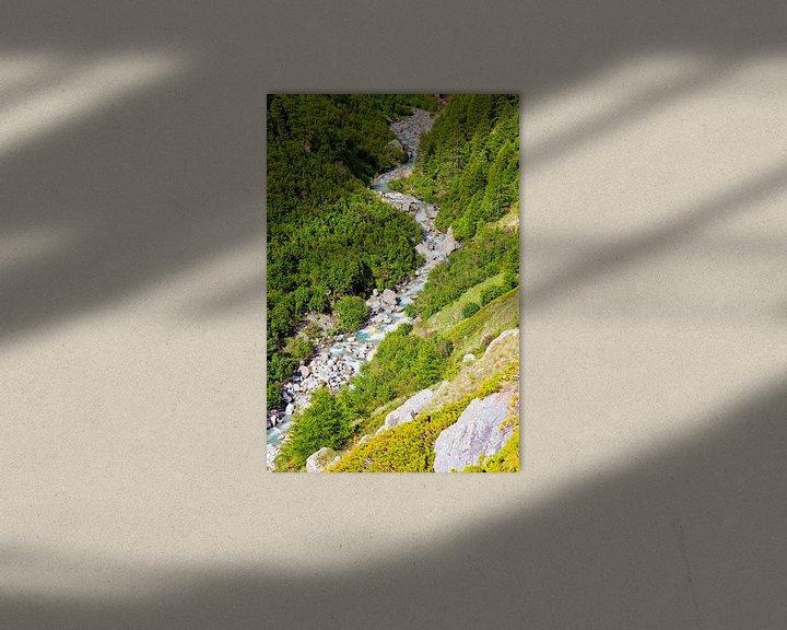 Sfeerimpressie: Berg rivier van Anton de Zeeuw
