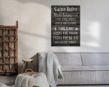 Cabin Rules von Green Nest