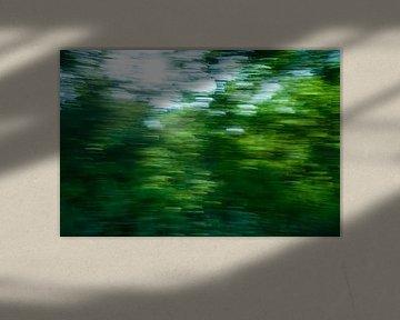 Het schilderachtige, Groningse landschap. sur Emma Westers